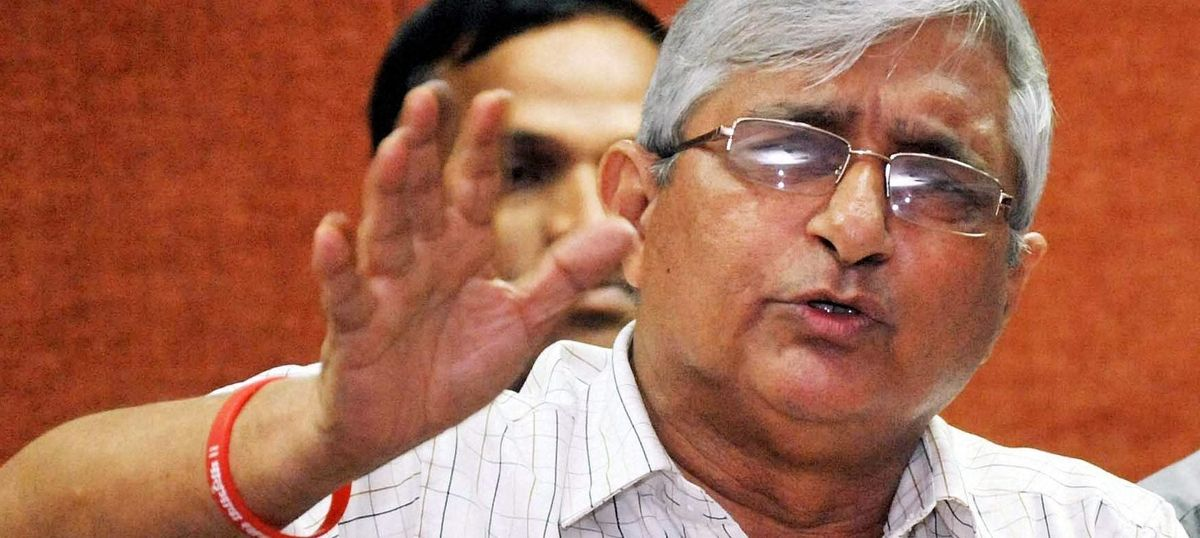 Goa: Sacked RSS chief Subhash Velingkar launches political party for Assembly elections