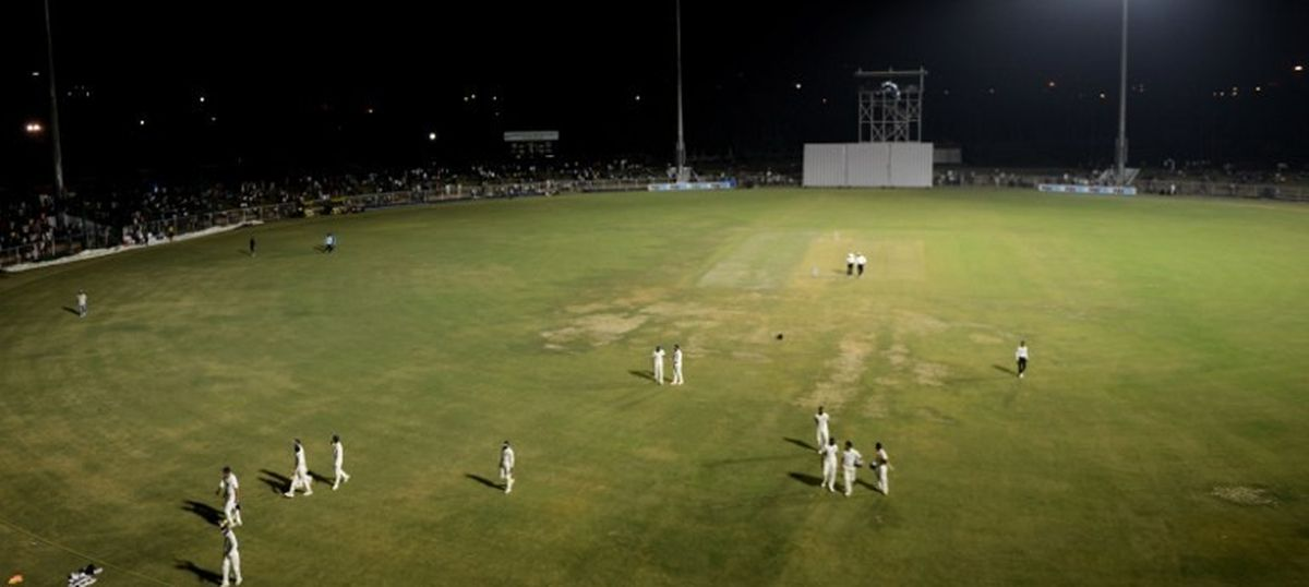 India Blue reach 232/3 before wet outfield stopped play on Day 3 of Duleep Trophy tie against Red