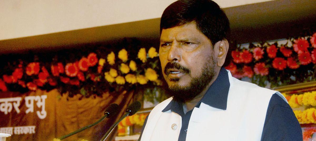 हाथी आरपीआई का चुनाव चिह्न था जिसे मायावती ने धोखे से हड़प लिया : रामदास अठावले