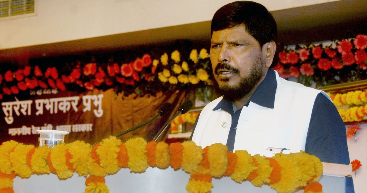 Jignesh Mevani is not responsible for the Bhima Koregaon violence: Union Minister Ramdas Athawale