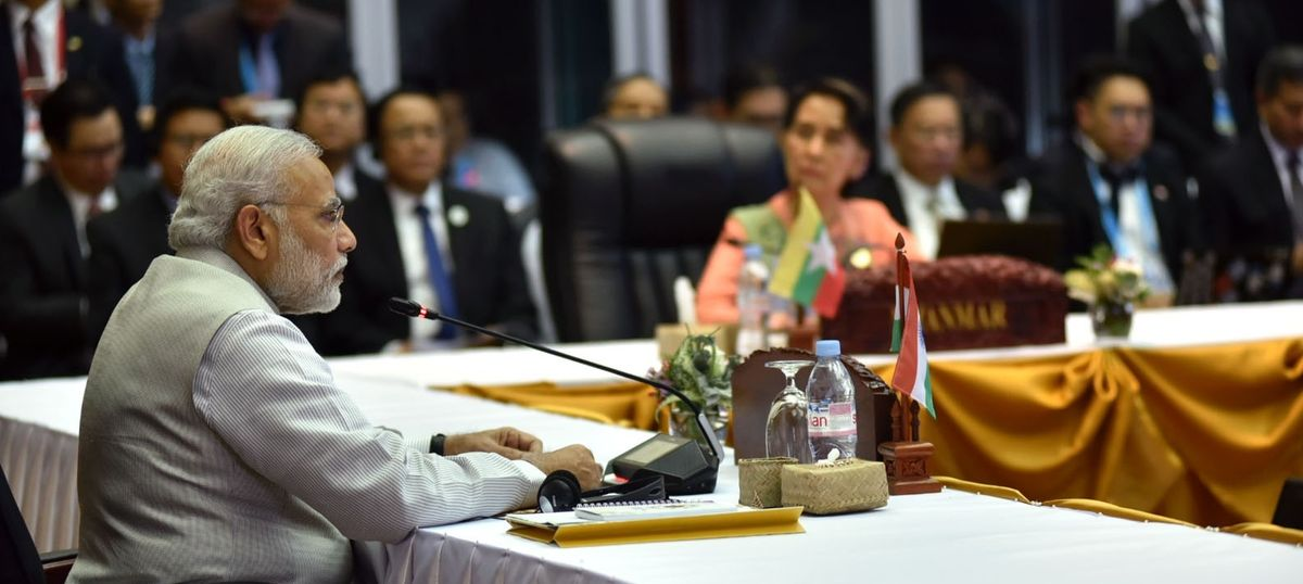 'Export of terror' a security threat to society, Narendra Modi says at Asean summit