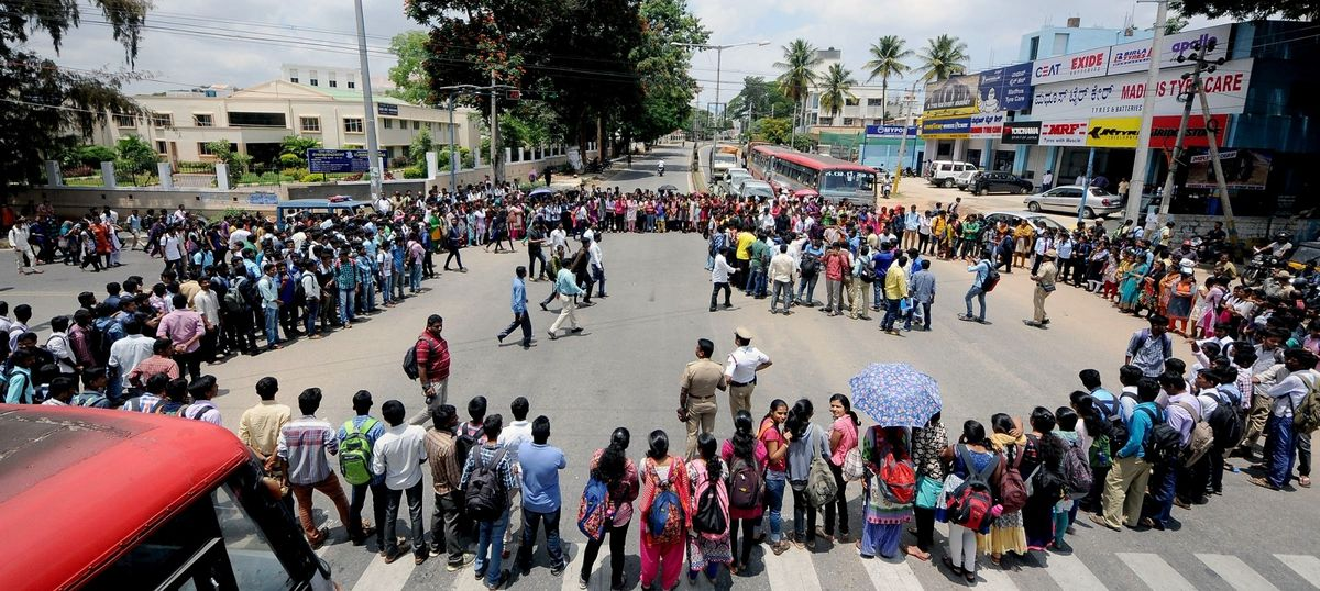 Cauvery dispute: Youth dies after setting himself on fire during agitation in Tamil Nadu