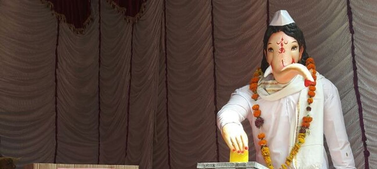 What happens when a government meets Ganesh Chaturthi? Election Ganpati