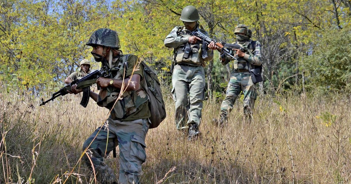 2 terrorists killed as infiltration bid foiled in Nowgam in J&K