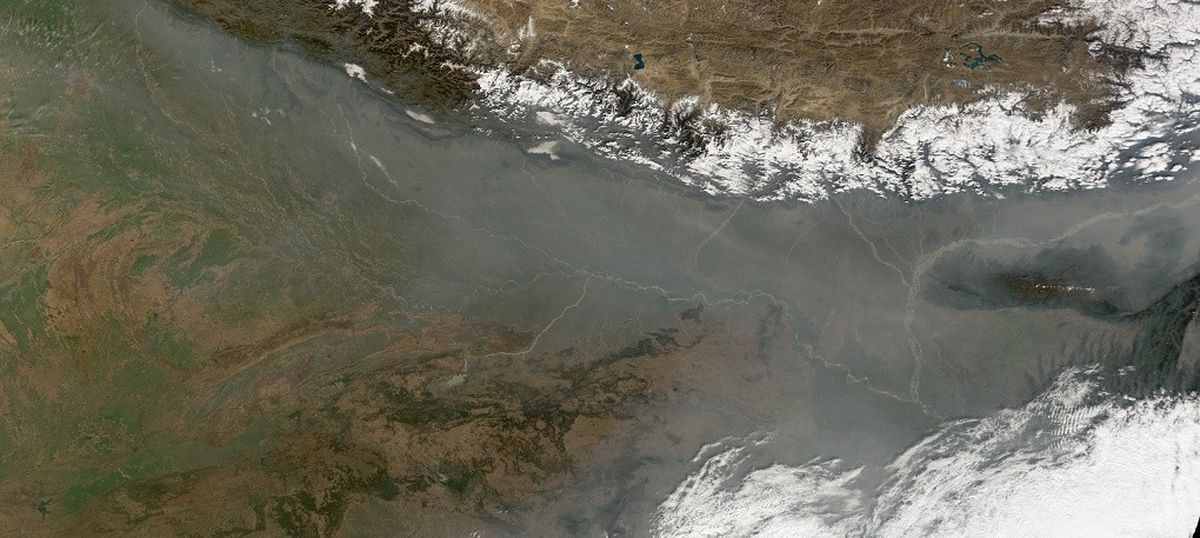 Pollution from India and Nepal is spreading to Tibet