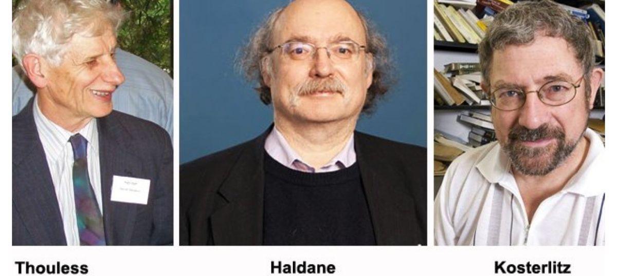 ब्रिटेन के डेविड थूल्स, डंकन हाल्डेन और माइकल कोस्टरलिट्ज को भौतिकी का नोबेल पुरस्कार