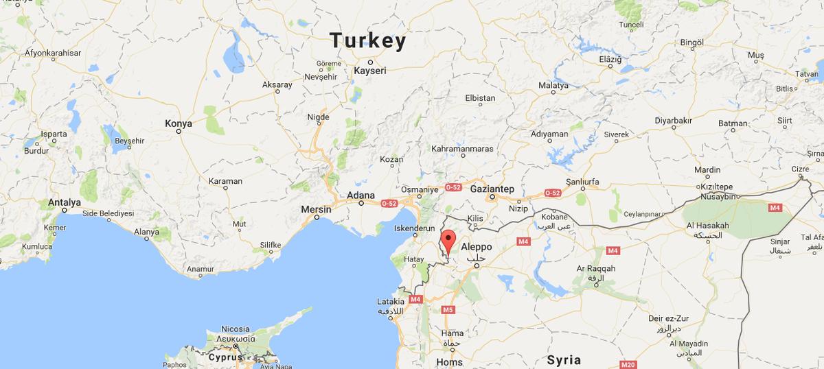 Explosion near Syria-Turkey border kills 29 rebels, Islamic State ...