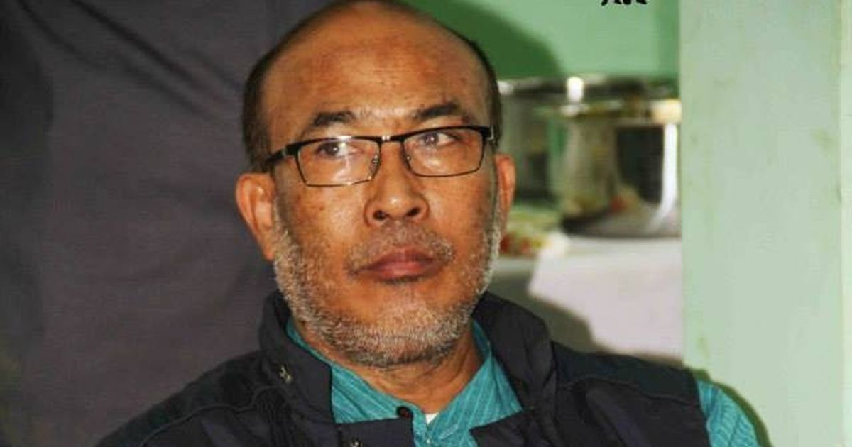 N Biren Singh: From the football field to Manipur chief minister