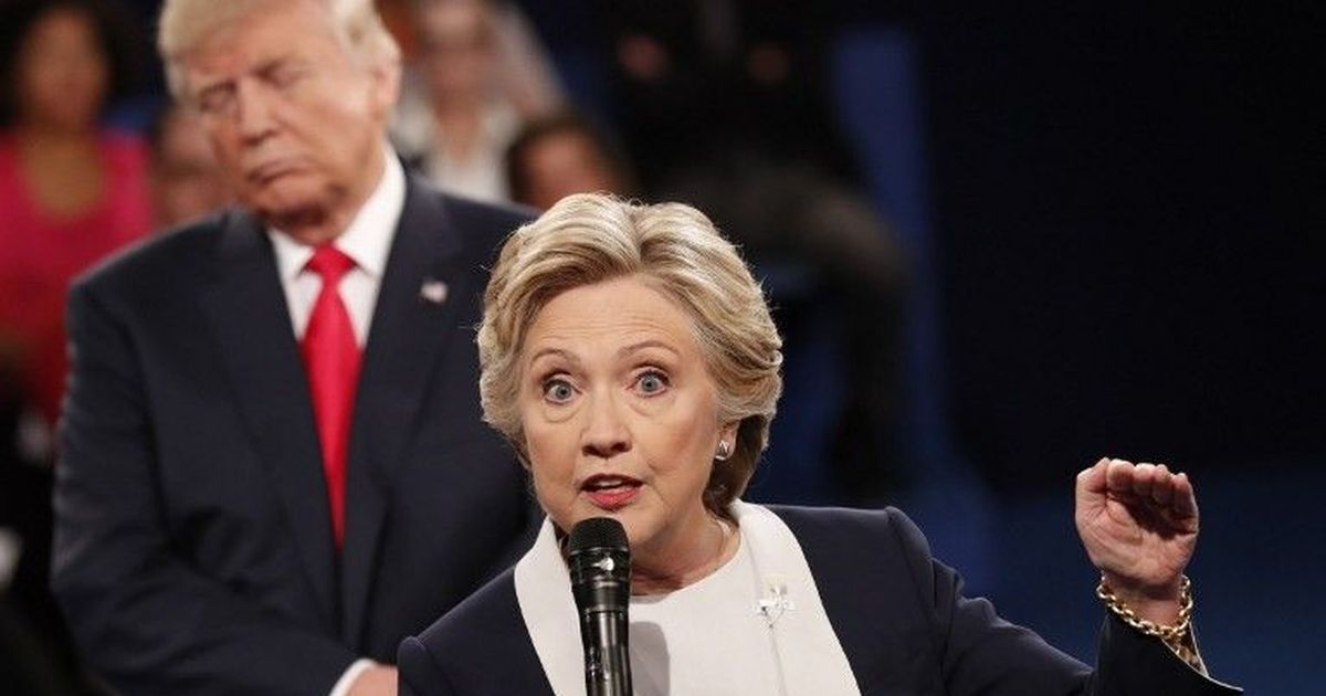 Hillary Clinton Practiced Being Stalked By Donald Trump During Presidential Election