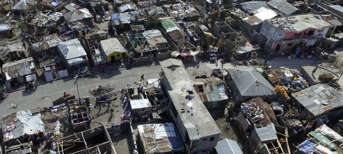 Hurricane Matthew is just the latest unnatural disaster to strike Haiti