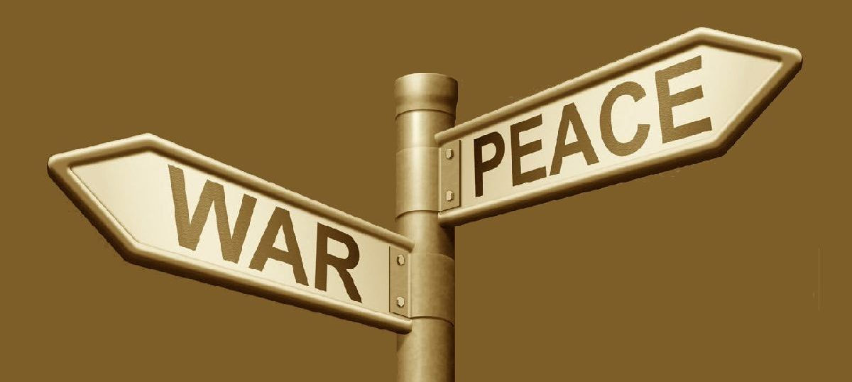 As we mark the end of three battles, it is time to remember why we need to give peace another chance