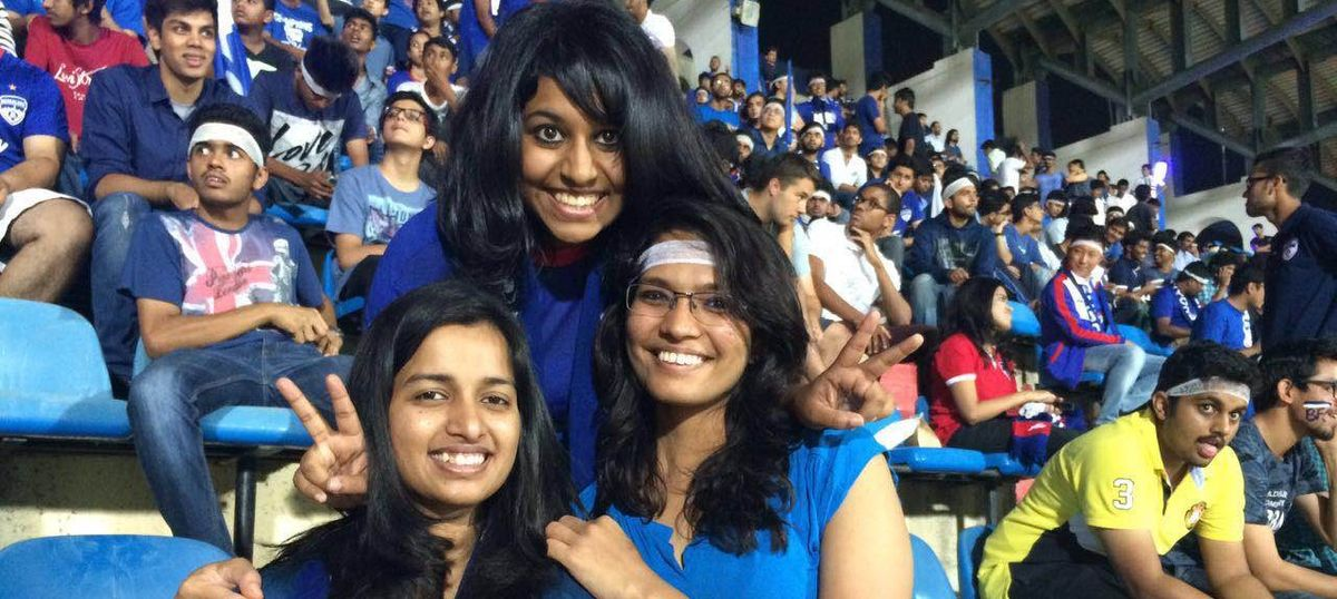 Why I and many other women flock to the Kanteerava Stadium to see Bengaluru FC play