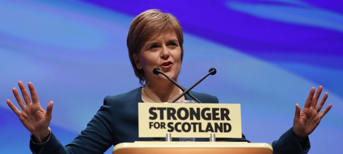 Brexit: Scottish leader to seek second referendum on country's independence from UK