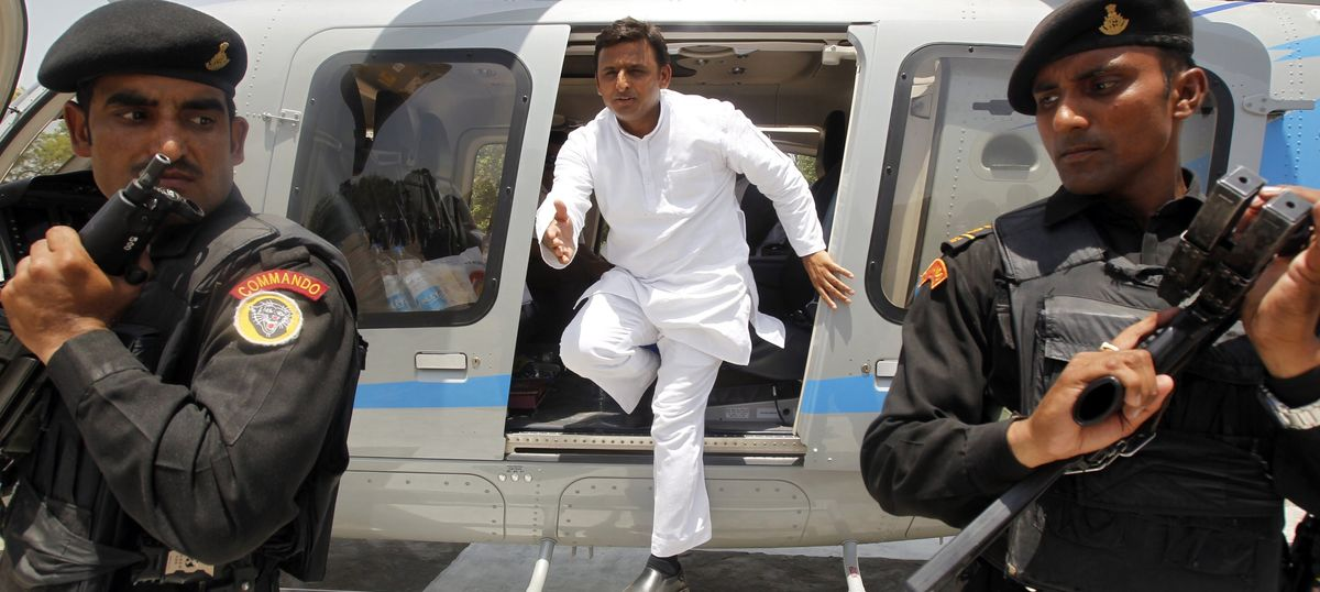 UP polls: Never had any differences with Mulayam Singh Yadav, says Akhilesh