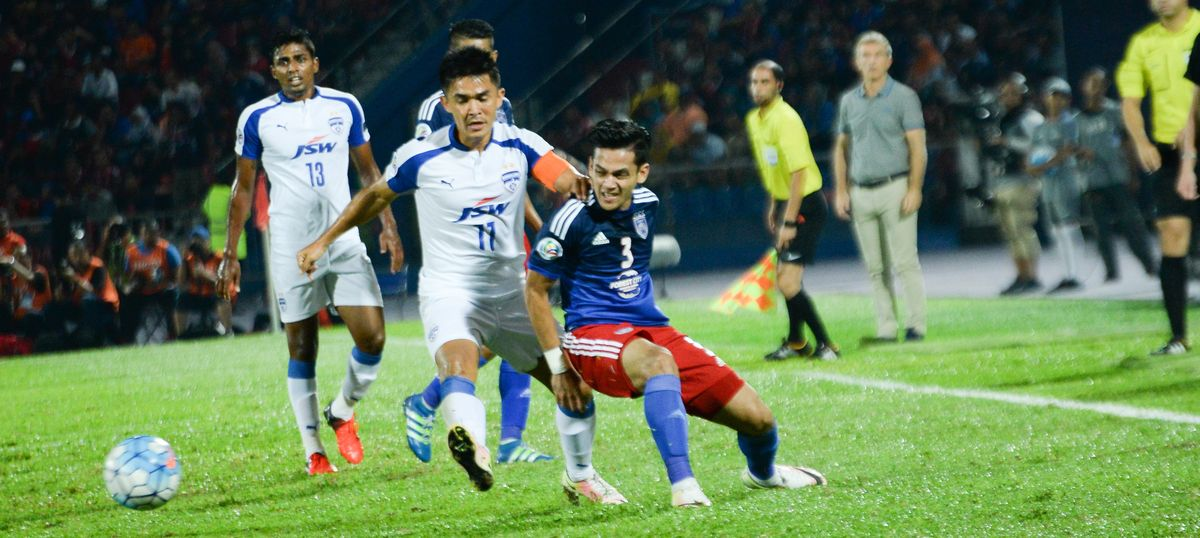 721dbd11b  We aren t even thinking about defeat   The importance of being (Bengaluru  FC skipper) Sunil Chhetri