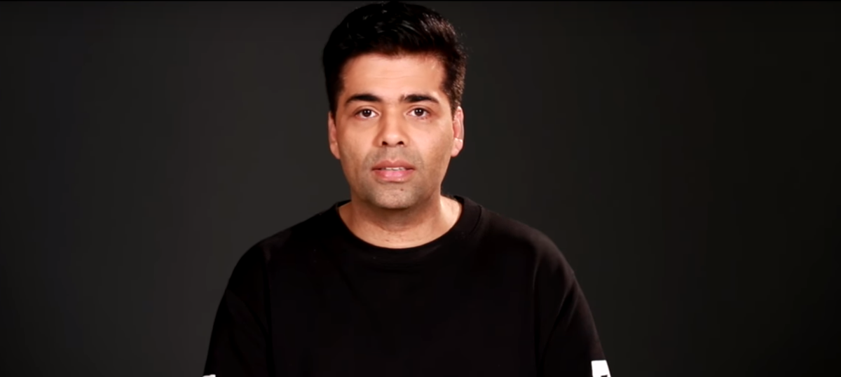 Karan Johar's video plea reflects our current crisis – and is a warning of things to come