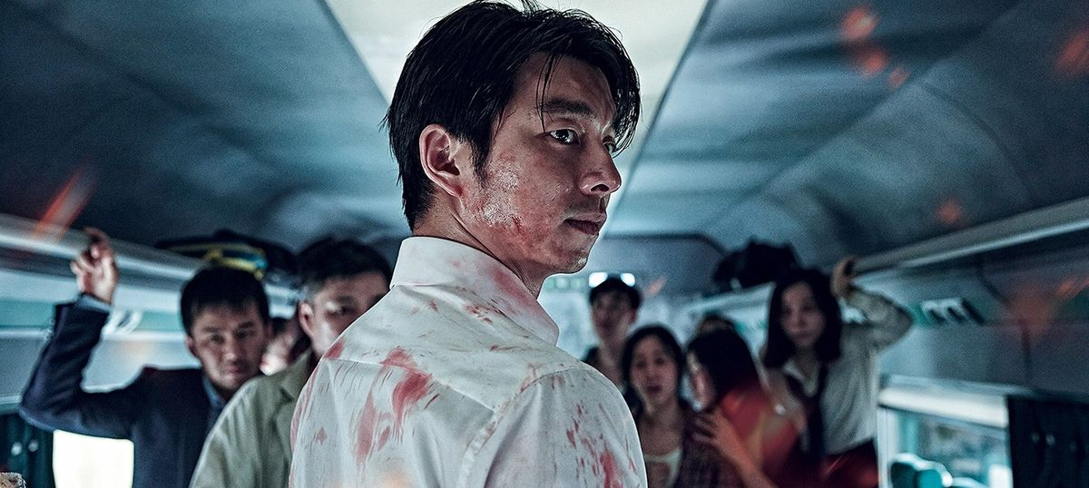 Film review: Guts and clichés spill over in zombie movie 'Train to Busan'