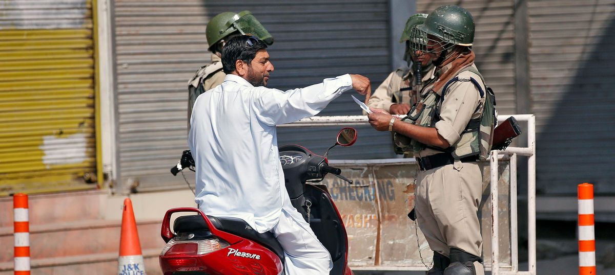 Will sacking government employees help control the unrest in Kashmir?