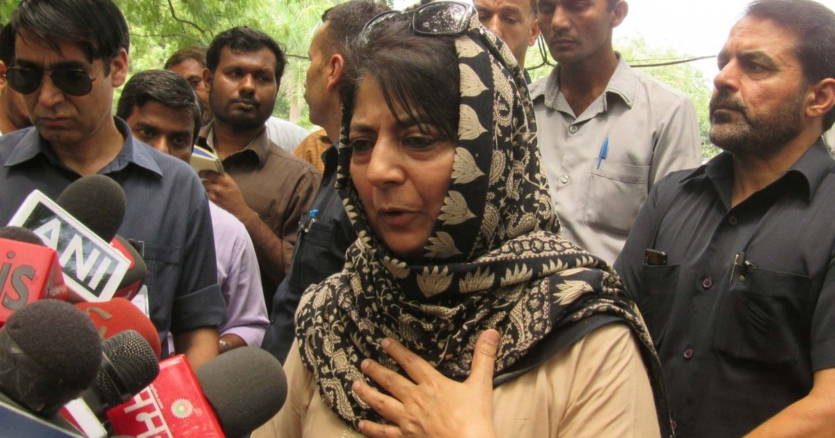 People Will Choose Ballots Over Bullets, Says Mehbooba Mufti on Panchayat Polls