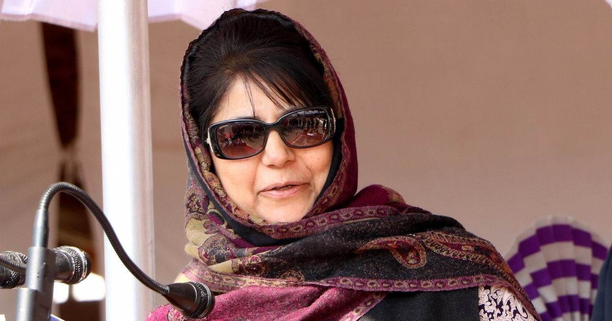 Kashmir is so vulnerable, even China is talking about it now, says Mehbooba Mufti