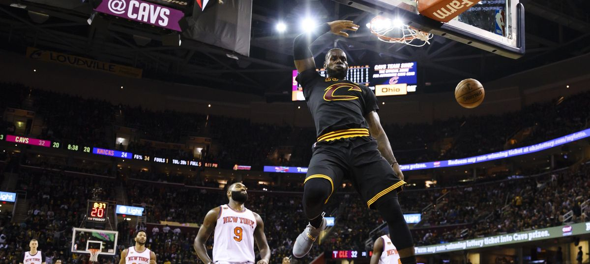 NBA: Cleveland Cavaliers begin title defence with 117-88 win over New York Knicks