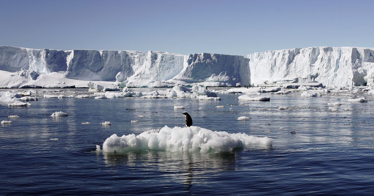 Antarctica has lost three trillion tonnes of ice in 25 years