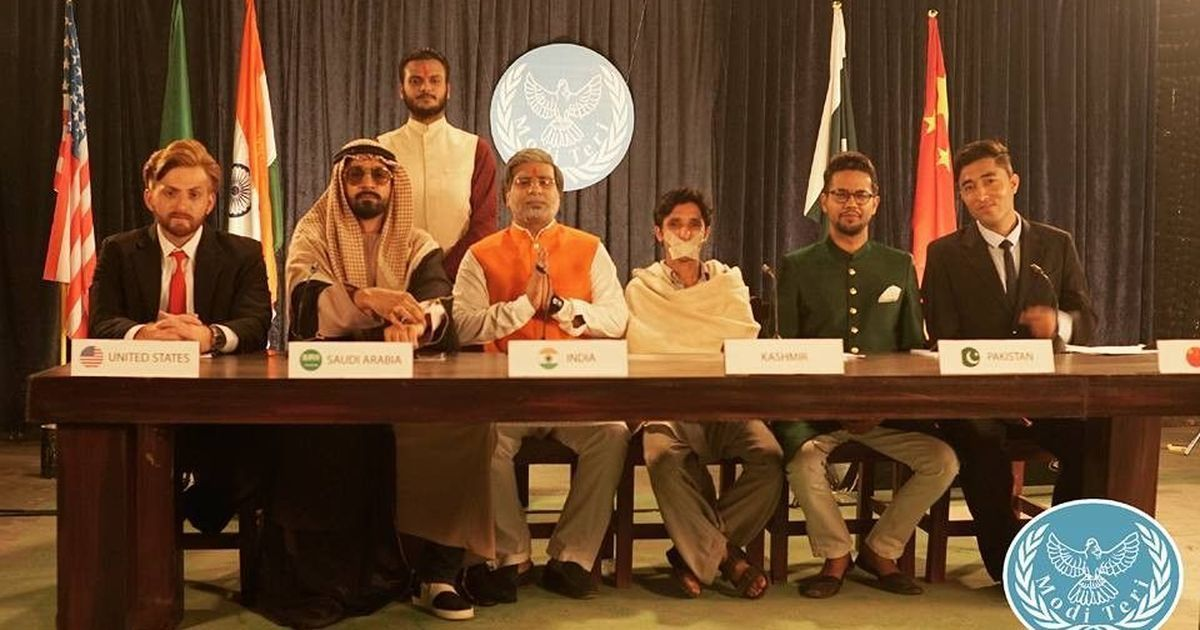 A Pakistani band challenges Narendra Modi to a rap battle