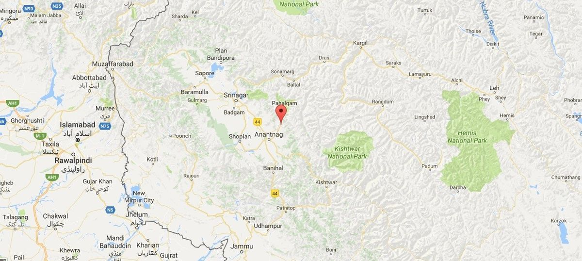 Kashmir: At least six police personnel killed during militant attack in Anantnag