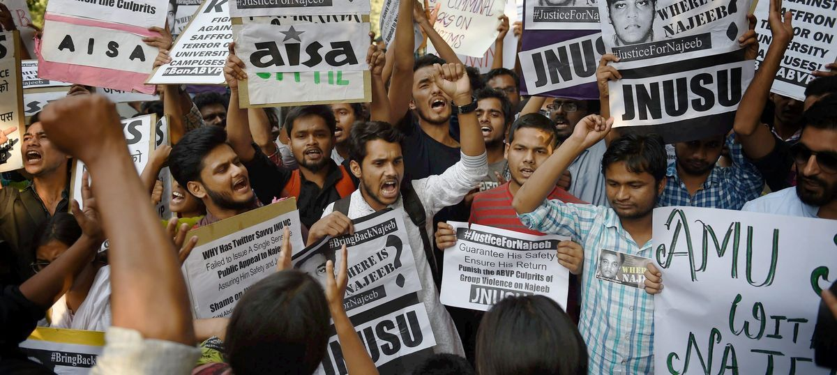 Strange silences, skewed concerns: The heartbreaking disappearance of JNU student Najeeb Ahmed