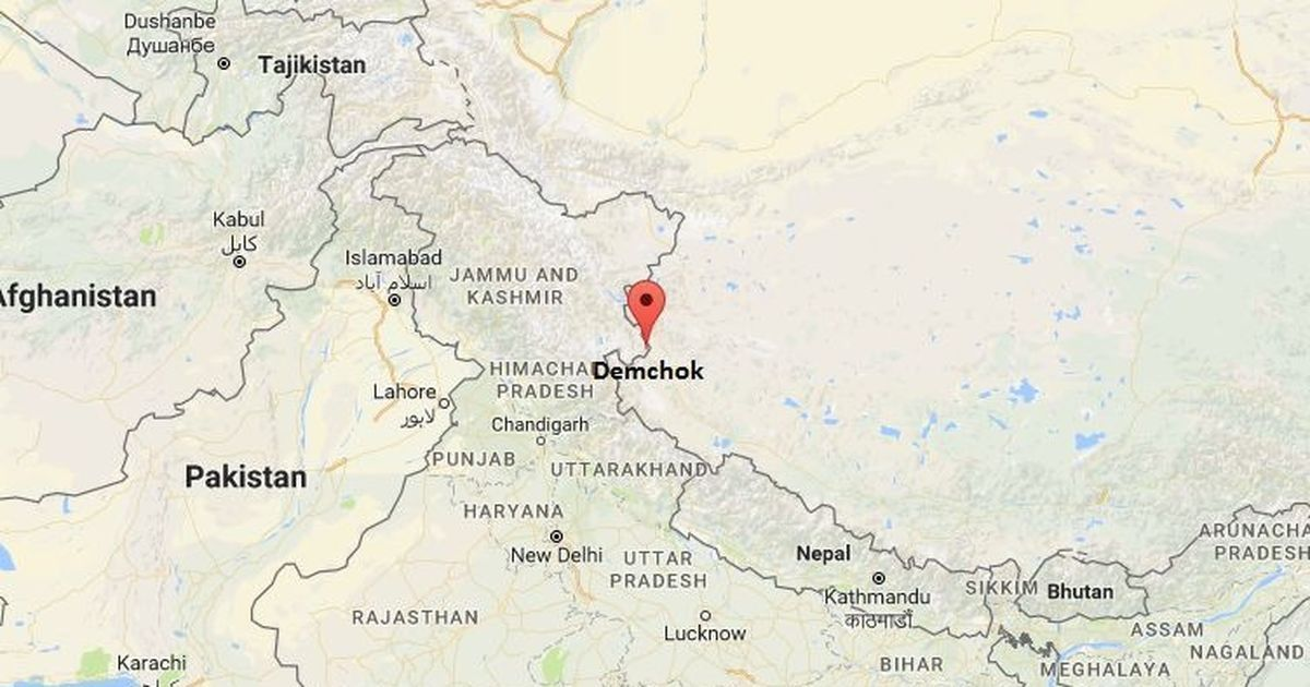 Chinese troops intruded 500 metres into Ladakh's Demchok area in July, say reports