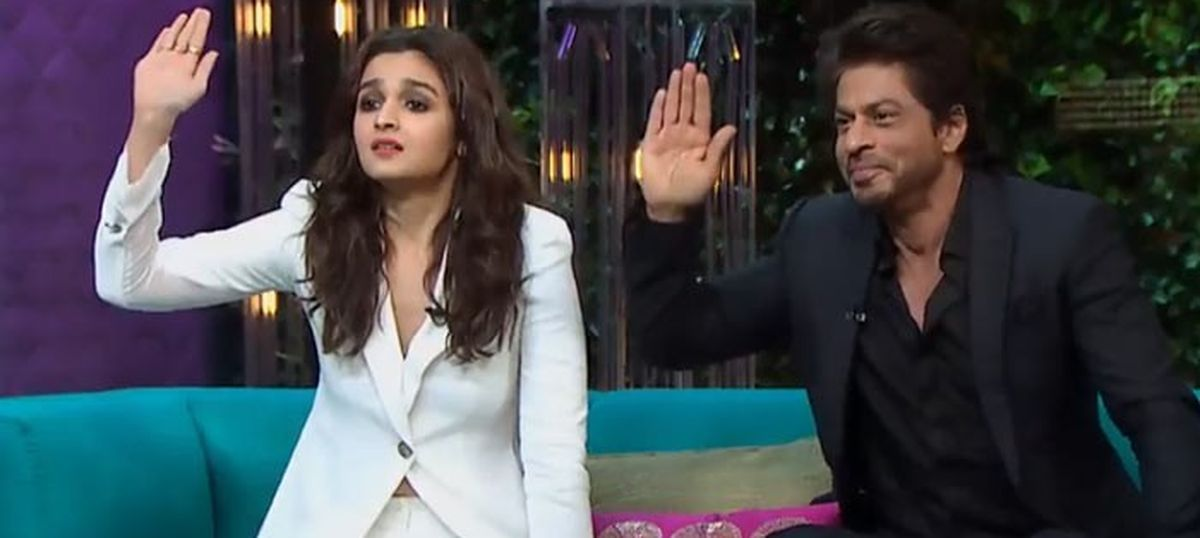 'Koffee With Karan' proves that Shah Rukh Khan has been in the wrong kind of movie his entire career