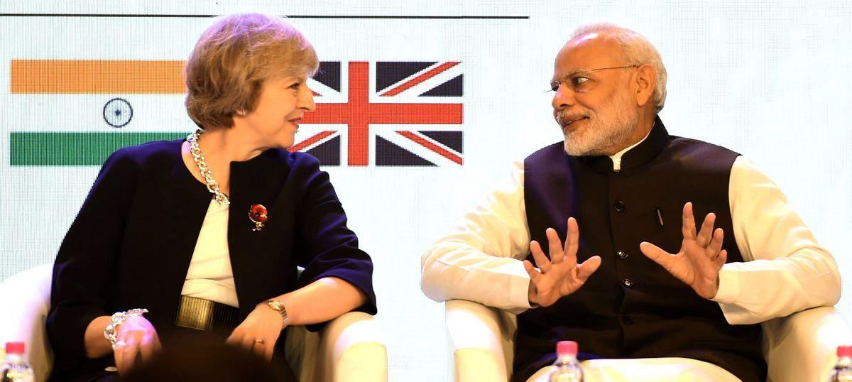 Both Narendra Modi and Theresa May have given up free-market economics for nationalism