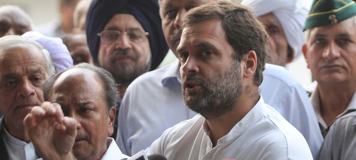 मोदी सरकार आंकड़ों के जरिए अपनी विफलता छिपाना चाह रही है : राहुल गांधी