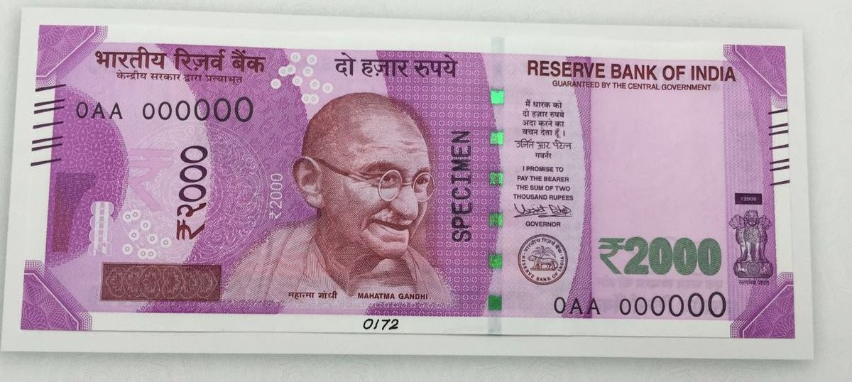 No, the RBI hasn't announced a Rs 2,000 note with a 'nano GPS chip' that it can track