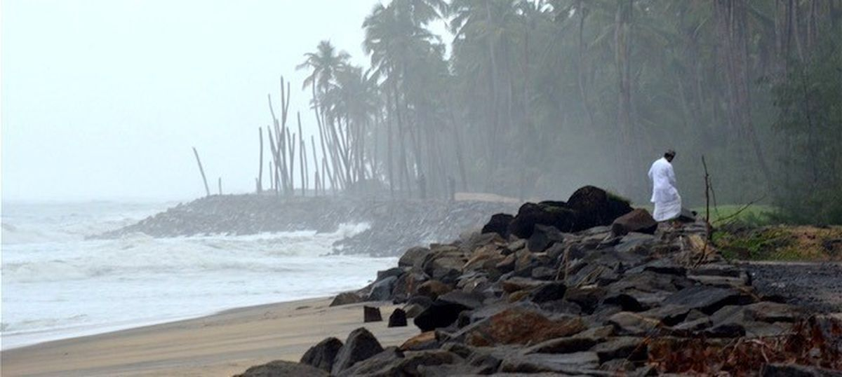 Neglecting natural buffers, Kerala is building walls to keep out the sea
