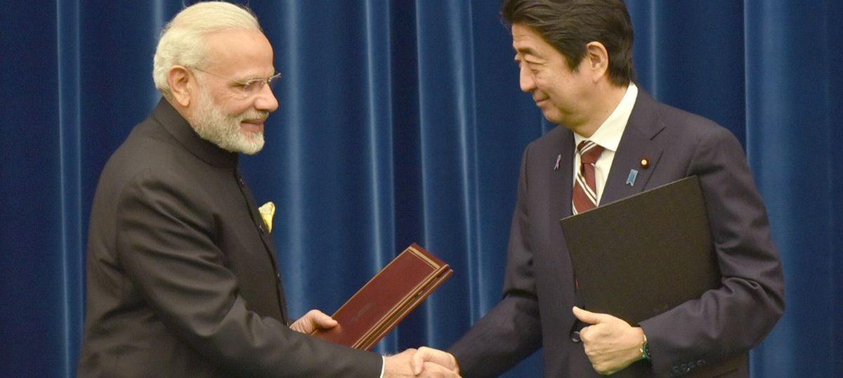भारत ने जापान के साथ ऐतिहासिक असैन्य परमाणु समझौता किया