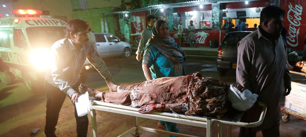 At least 52 killed, 105 injured in attack at Sufi shrine in Pakistan's Balochistan province