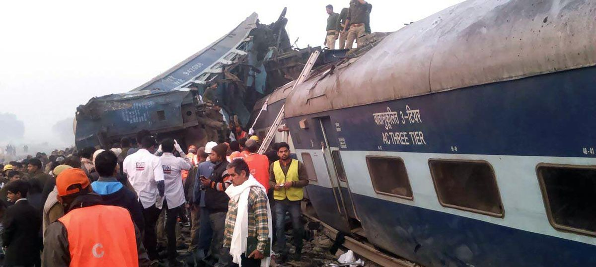 At least 97 dead, more than 150 injured after Patna-Indore Express train gets derailed