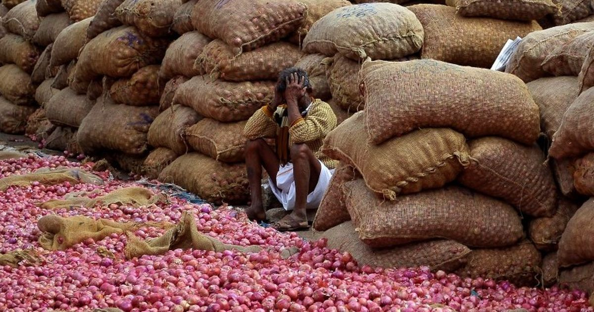 Shed no tears, onion prices crash on income tax raids