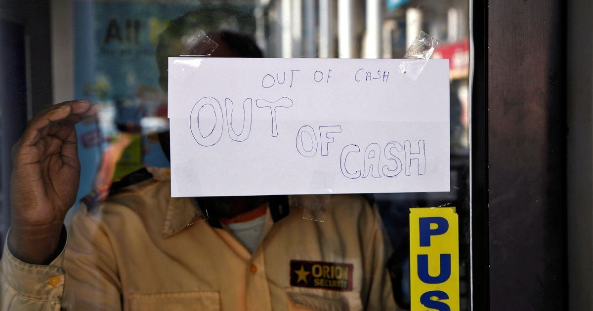 Current cash crunch shines a light on Modi government's fundamental incompetence