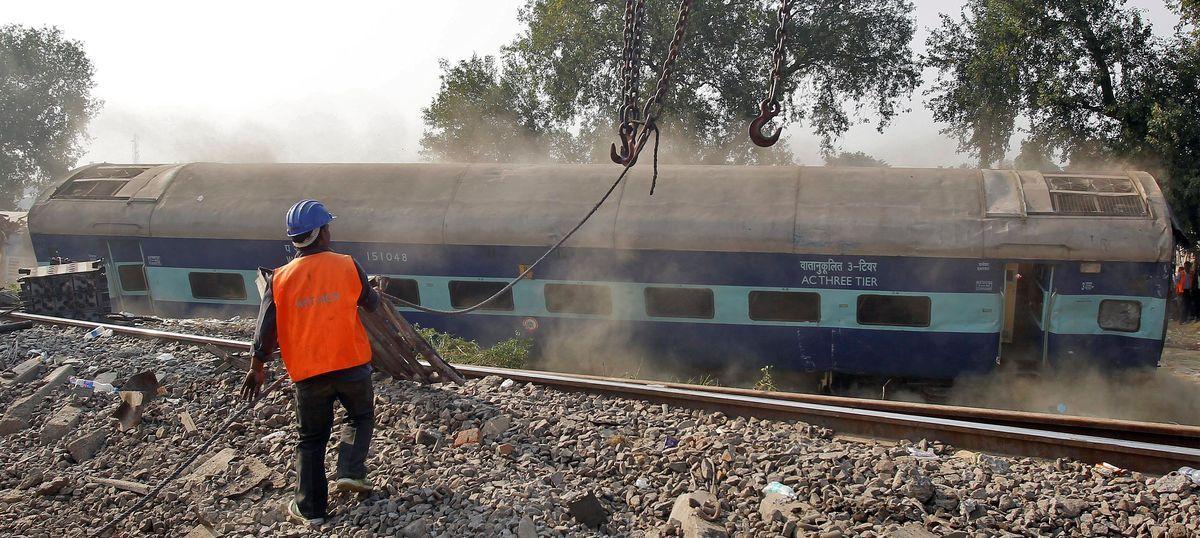 Kanpur train derailment: UP government files FIR against
