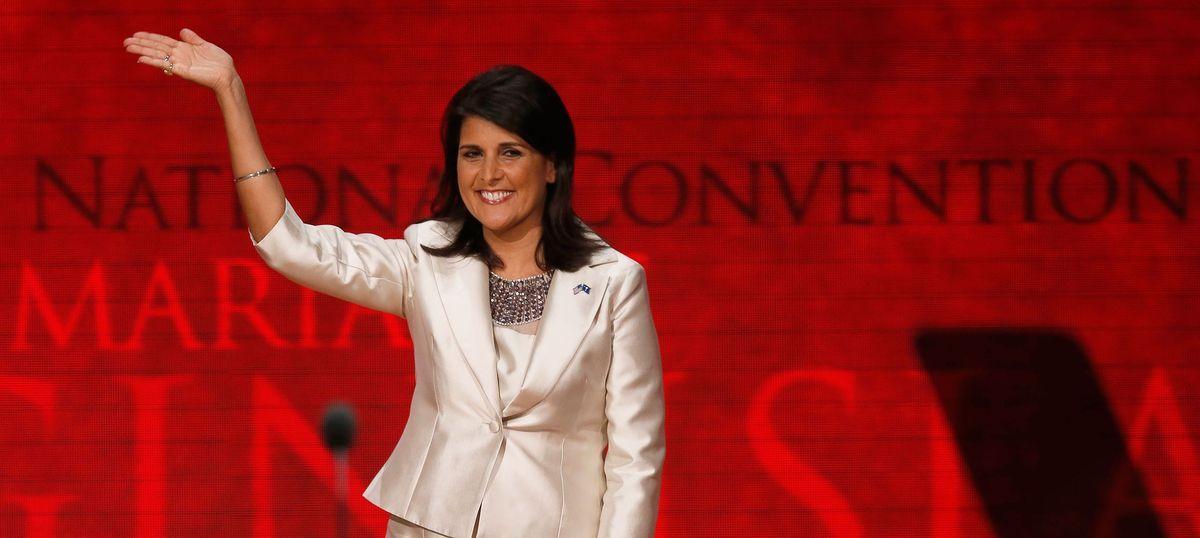 Trump selects South Carolina Governor Nikki Haley as US Ambassador ...