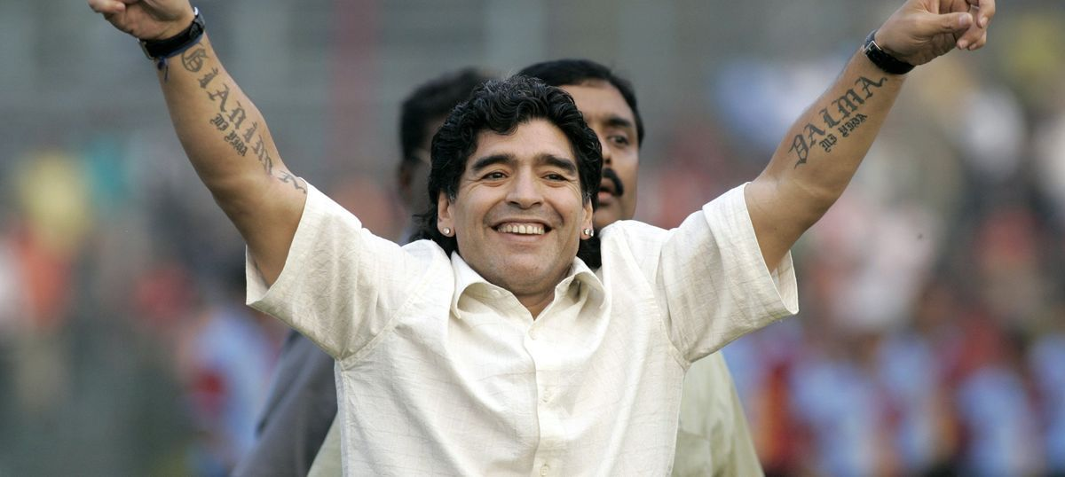 Diego Maradona and Sourav Ganguly to face off in charity match ahead of U-17 World Cup