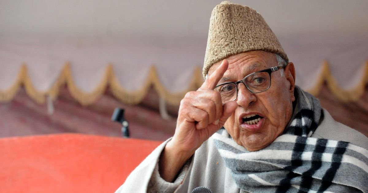 Nehru And Patel, Not Jinnah Responsible For India-Pakistan Partition: Farooq Abdullah