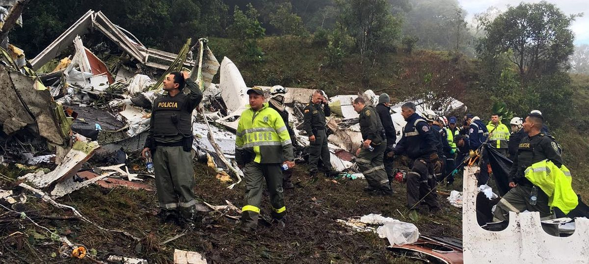 Colombia plane crash: Authorities suspend licence of airline, replace Bolivian aviation management