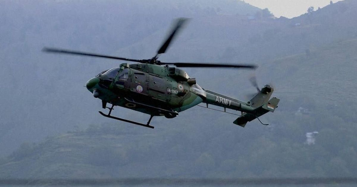 Helicopter crashes in Badrinath, engineer dies