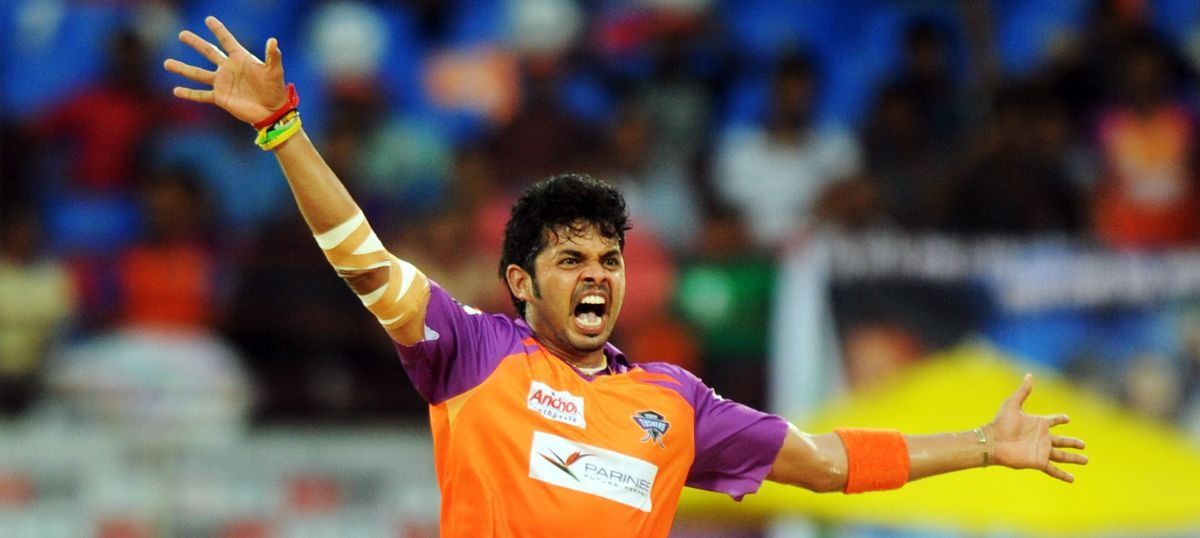Watch: Sreesanth is back. Not on the field, but on the big screen (with an expressionless face)