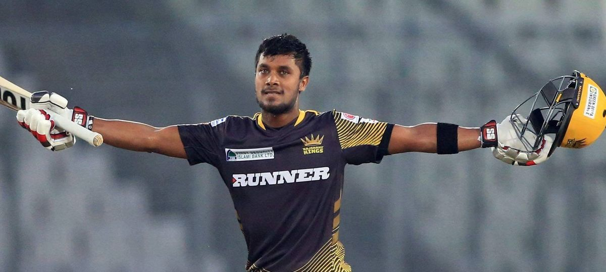 Video: Bangladesh's Sabbir Rahman swings his bat at an opponent in an ugly onfield fight