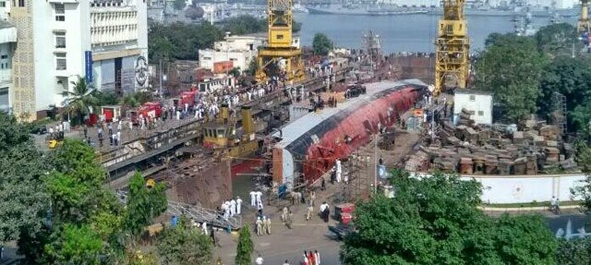 Timing is everything: Watching the clock may hold a clue to the INS Betwa accident