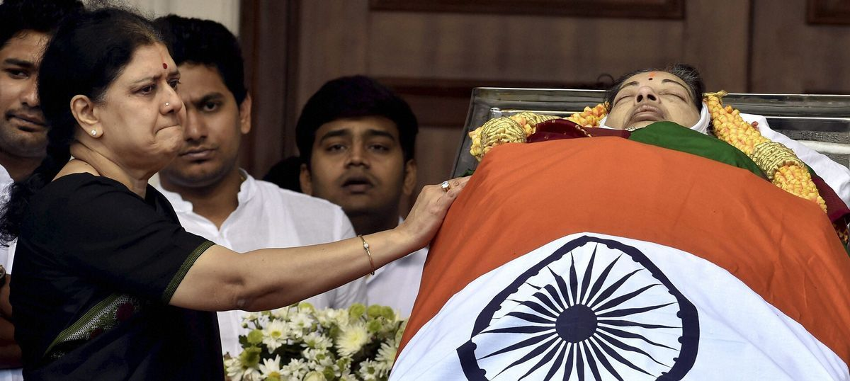 Mystery over Jayalalithaa's death deepens as AIADMK leaders point fingers at Sasikala